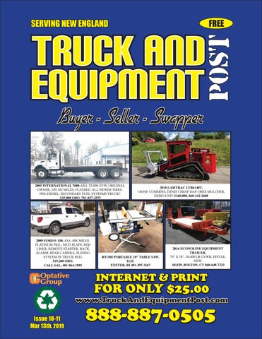 Fabulous Truck And Equipment Post Issue 10 11 2019 By 1Clickaway Creativecarmelina Interior Chair Design Creativecarmelinacom