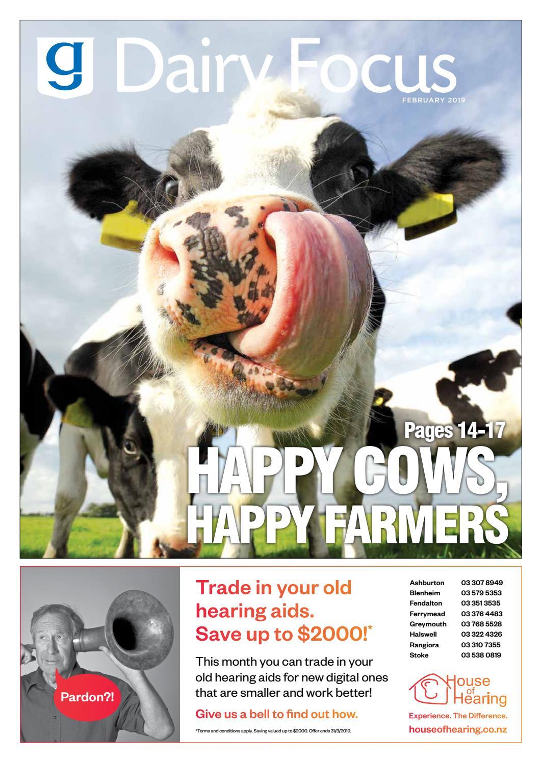 Dairy Focus February 2019 By Ashburton Guardian Issuu