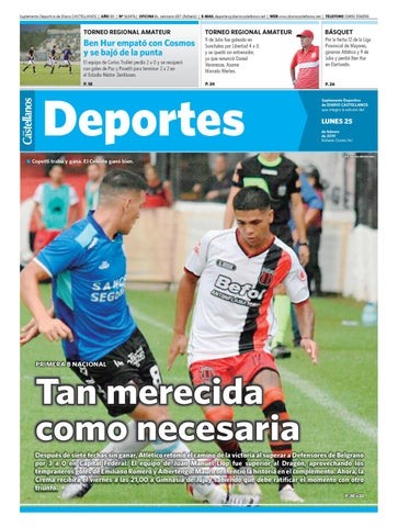 Deportes 25 02 19 by Diario Castellanos - issuu 1e82024ba5687