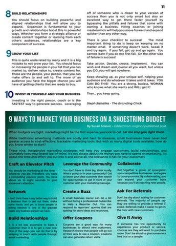 Page 11 of Spotlight on SUCCESS