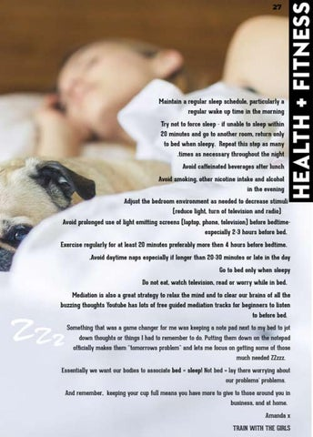 Page 27 of Are you getting enough sleep?