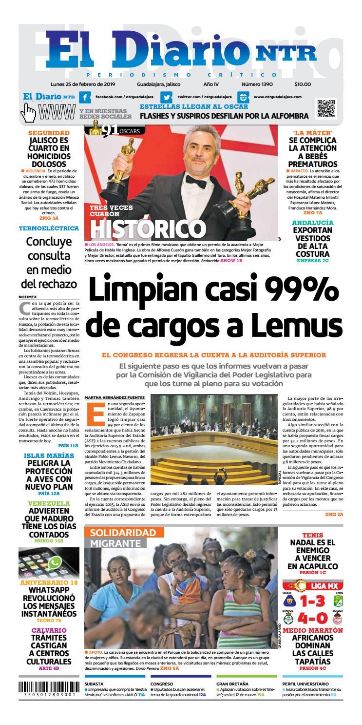 5e2c728ac El Diario NTR 1390 by NTR Guadalajara - issuu