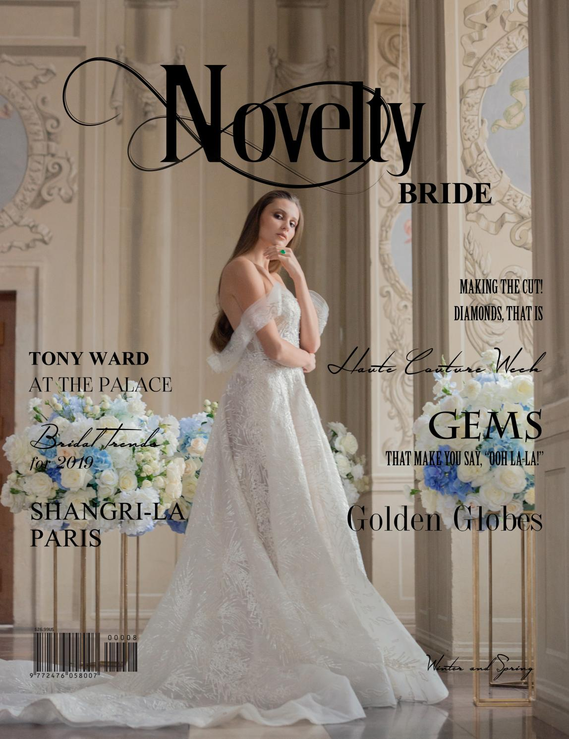 Issue No 8 Tony Ward Couture By Novelty Luxe Magazine Issuu
