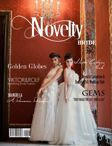 3f81736a43 Issue NO. 8 VIKTOR ROLF by Novelty Bride Magazine - issuu