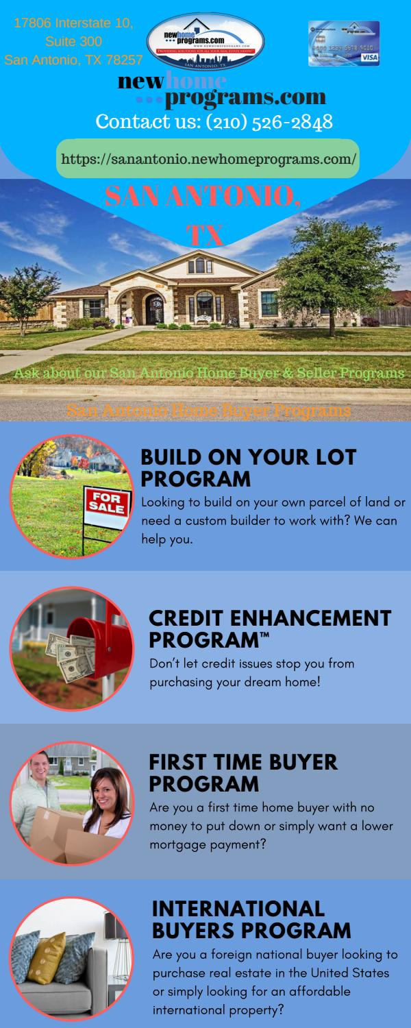 Down Payment Up to $45,000 | Home Buyer Programs San Antonio