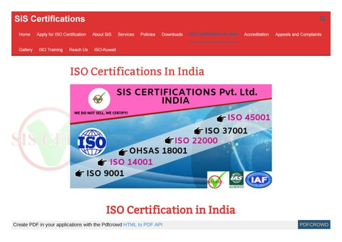 iso 29990 certification bodies in india