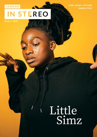 bf84eea33c3 London in Stereo // Little Simz by London In Stereo - issuu
