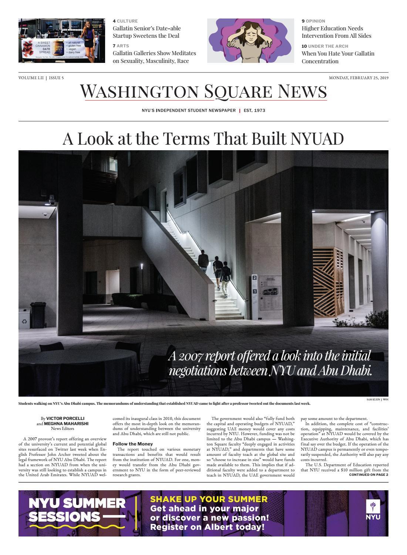 2be9059e7f4e3e Washington Square News February 25