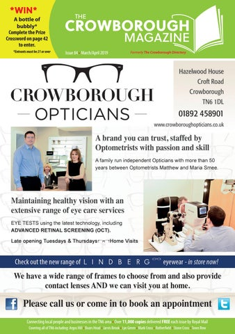 cfa6daa9e3 The Crowborough Magazine - Issue 84 - March April 2019 by Laura - issuu