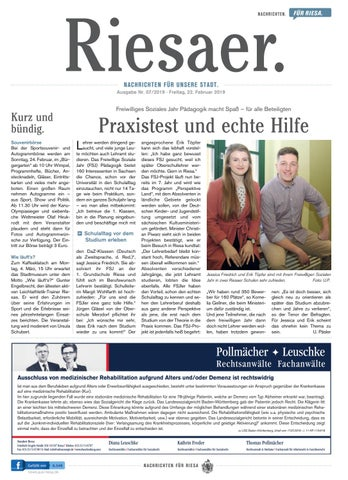Kw 072019 Der Riesaer By Stadtverwaltung Riesa Issuu