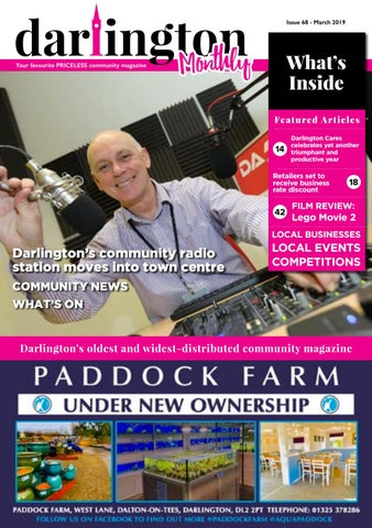 Darlington Monthly March 19 by Darlington Monthly - issuu