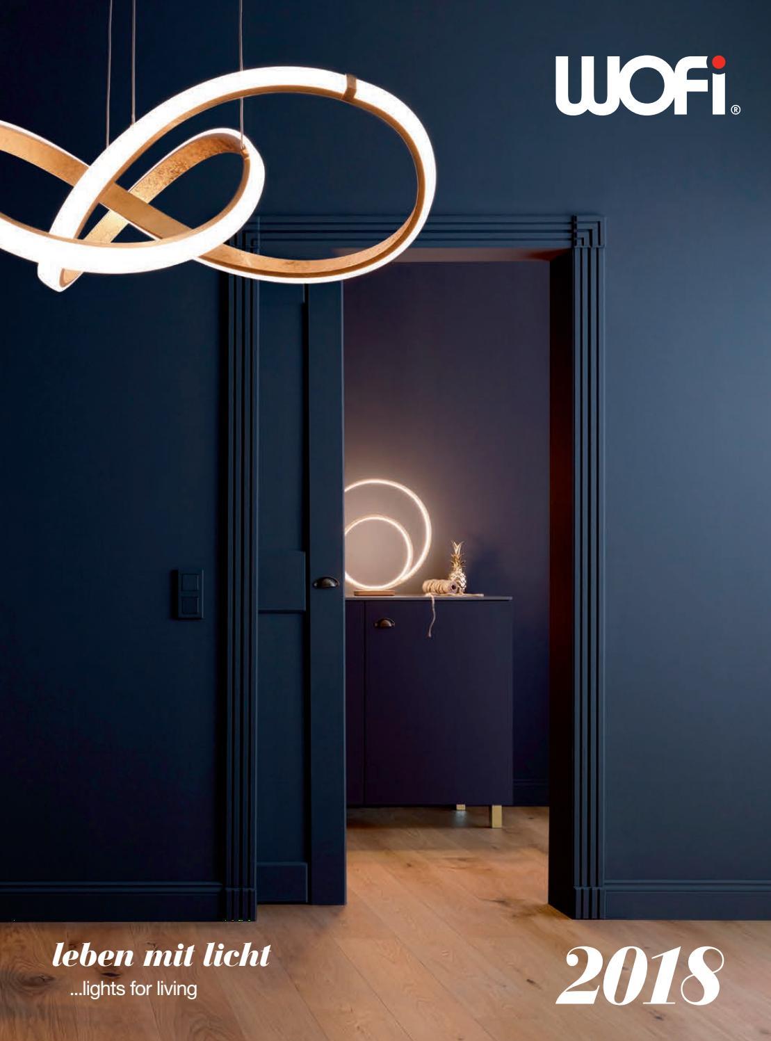 Touchdimmer Wofi-Leuchten Höhe 42 cm Tischleuchte Chrom