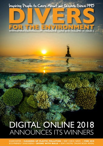 dcdf33dfe1 Divers for the Environment June 2018 by Emirates Diving Association ...