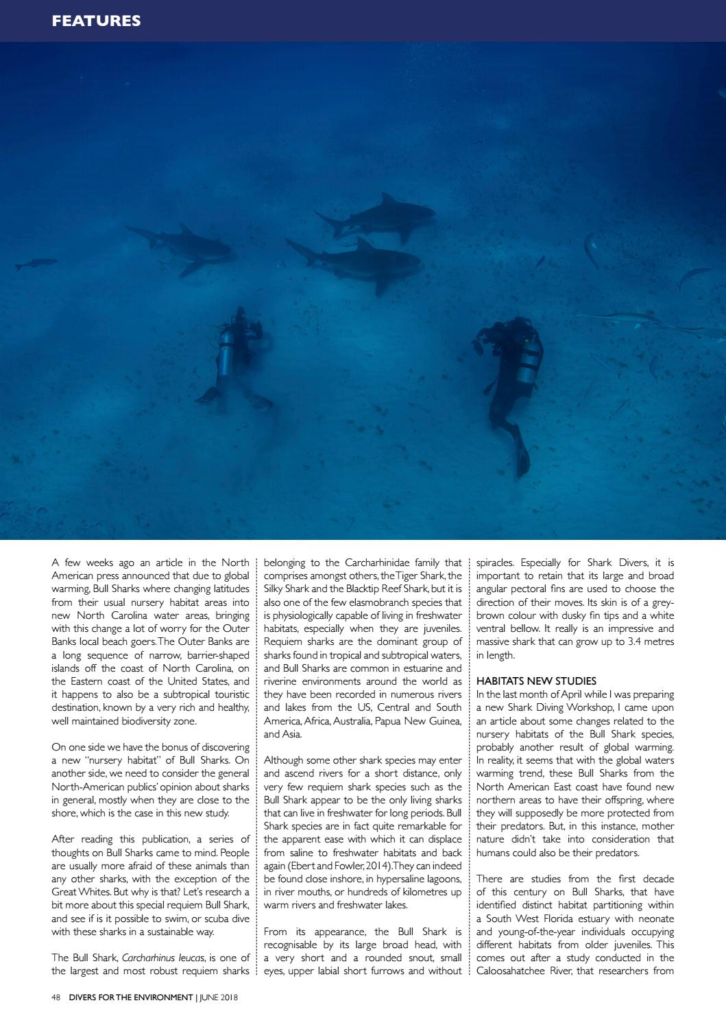 Divers for the Environment June 2018 by Divers for the