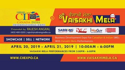 Vaisakhi Mela 2019 & CII EXPO 2019 by ciiexpo - issuu