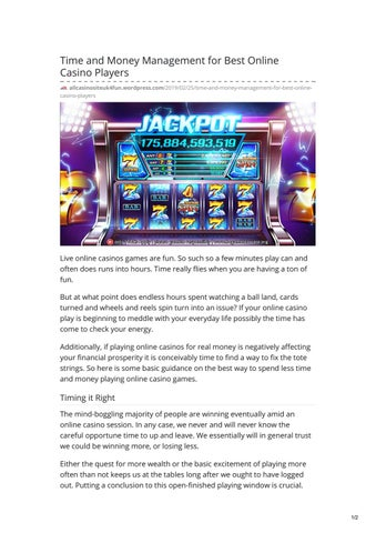 Online Casino Luxembourg 2019
