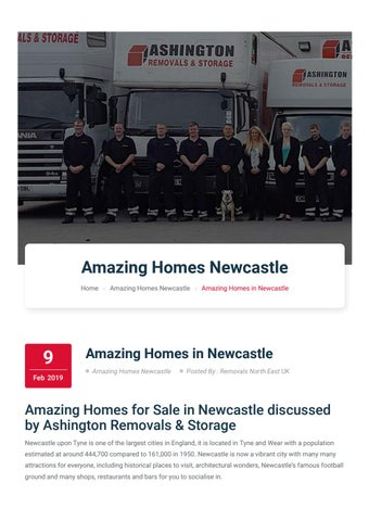 Amazing homes for sale in newcastle discussed by ashington