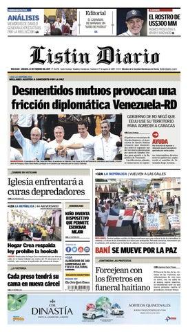 wholesale dealer b38a8 b4c15 LD 20-01-2019 by Listín Diario - issuu