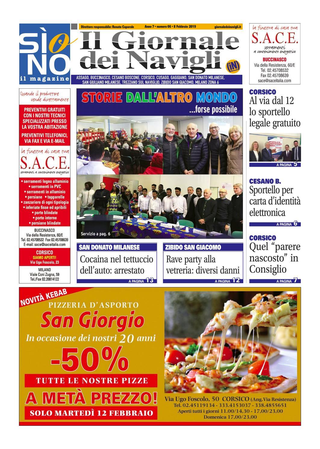 Porta Tv Munari Miglior Prezzo.Si O No Corsico 6 2019 By Netweek Issuu
