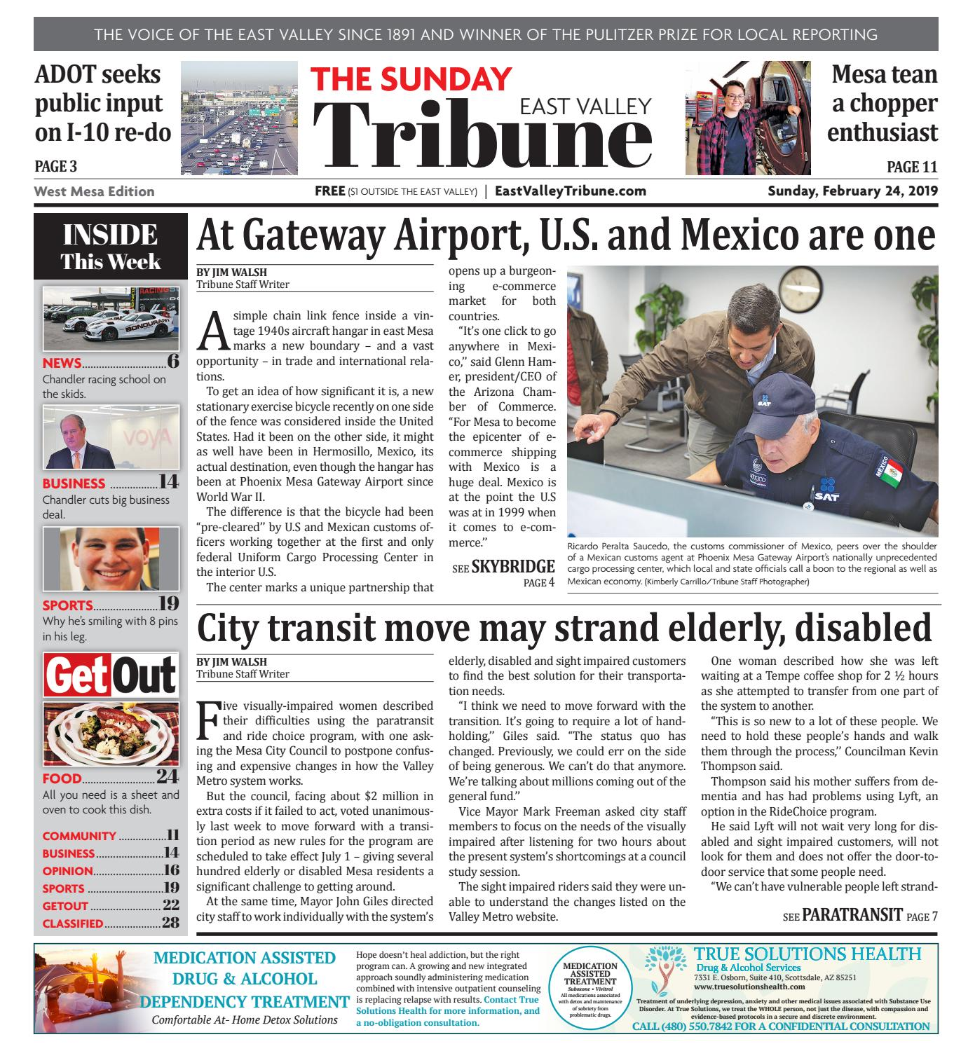 East Valley Tribune: West 02-24-2019 by Times Media Group