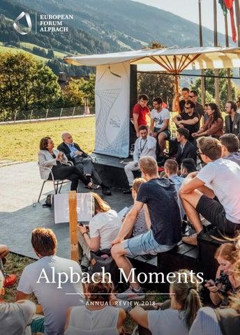 Alpbach Moments 2018 by European Forum Alpbach - issuu