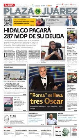 770eaafefce82 25-02-19 by Diario Plaza Juárez - issuu