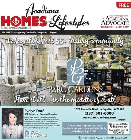 acadiana homes lifestyles february 23 2019 by the advocate issuu rh issuu com