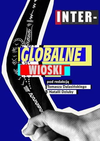 Globalne Wioski Inter Antologia Wierszy Z Lat 2013 2018