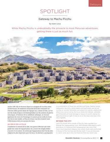 Page 17 of Spotlight: Gateway to Machu Picchu
