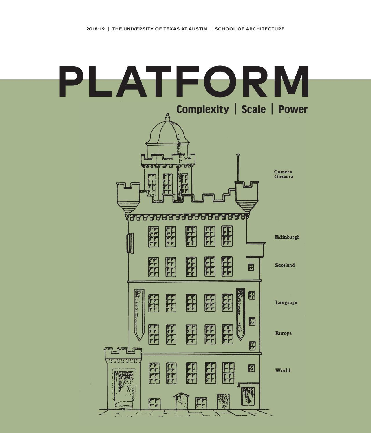 PLATFORM: Complexity | Scale | Power by UT School of