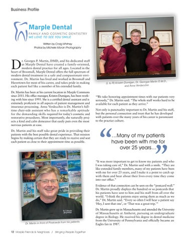 Page 12 of Business Profile: Marple Dental