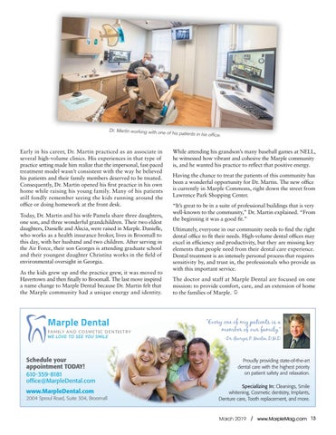 Page 13 of Business Profile: Marple Dental
