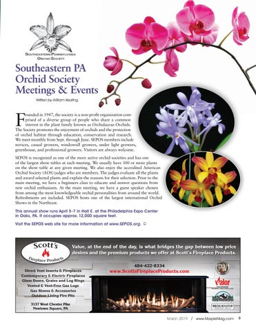Page 9 of Southeastern PA Orchid Society (SEPOS) Meetings & Events