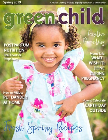 Page 1 of Green Child Magazine's Spring 2019 Issue