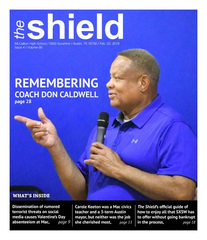 The McCallum HS Shield, Volume 66, Issue 5, Feb  22, 2019 by