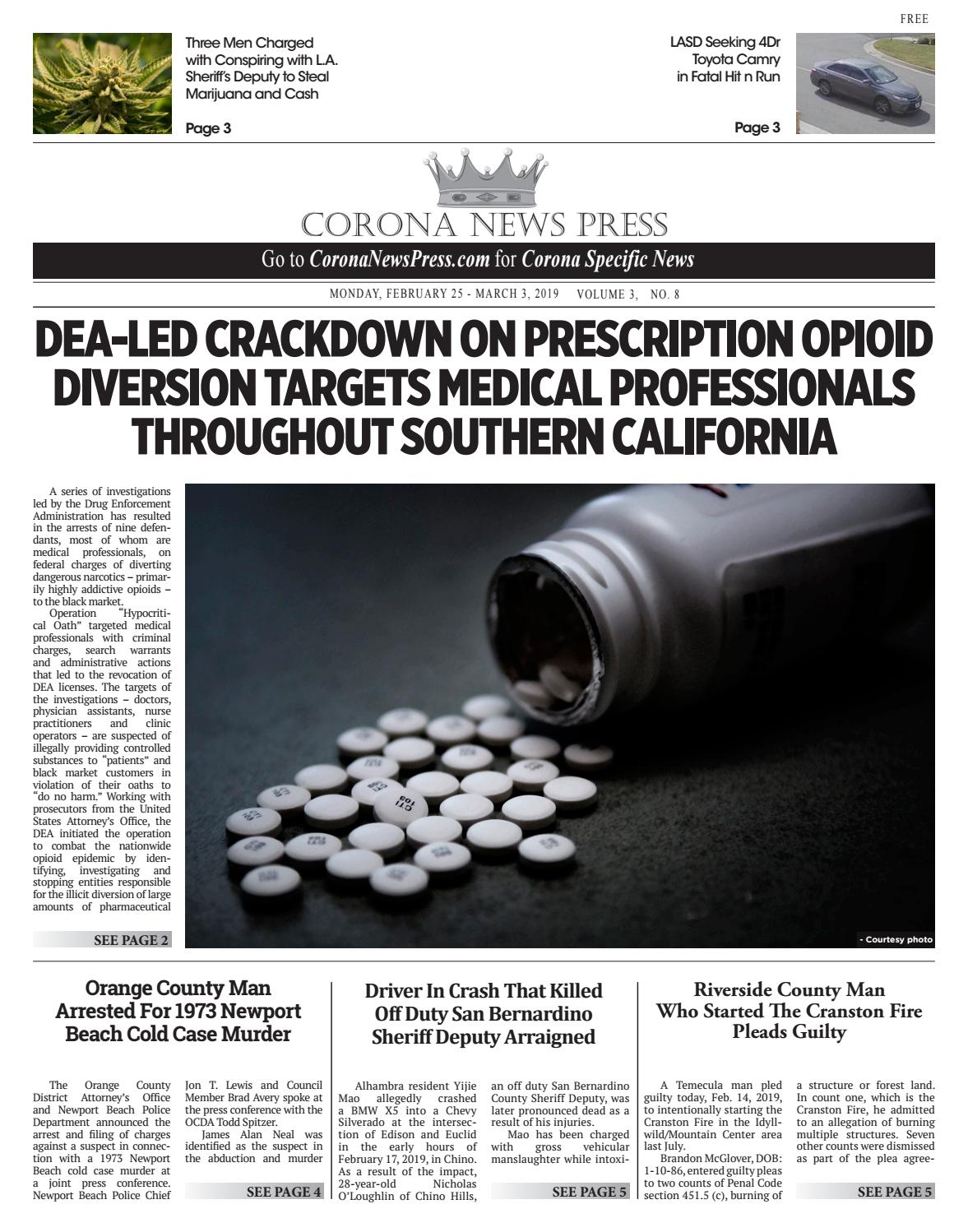 Corona News Press - 02/25/2019 by Beacon Media News - issuu
