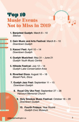 Page 5 of Top 10 Music Events Not to Miss in2019