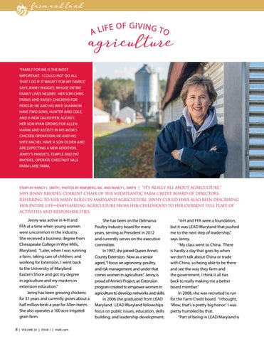 Page 8 of A Life of Giving to Agriculture