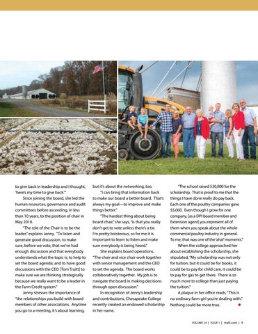 Page 9 of A Life of Giving to Agriculture