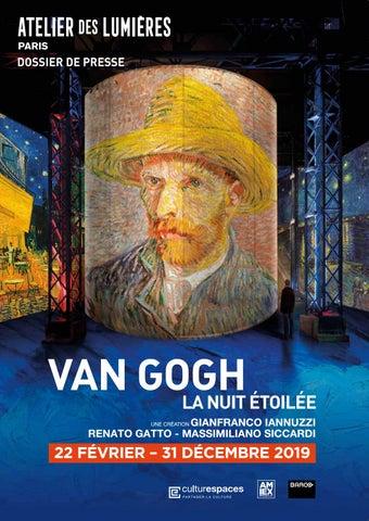 Van Gogh, La Nuit étoilée De Van Gogh à Lu0027Atelier Des Lumières ...