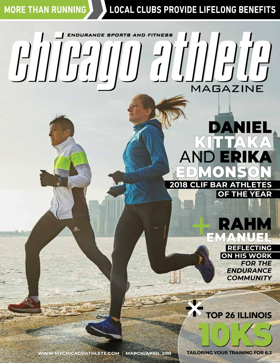 Vadim Racu Christmas In July 2020 5k Chicago Athlete Magazine March/April Issue by Kelli L   issuu