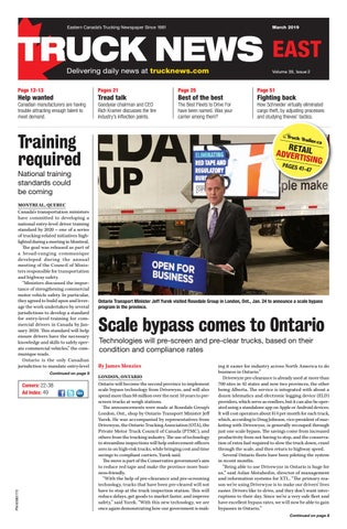 Truck News East March 2019 by Annex Business Media - issuu