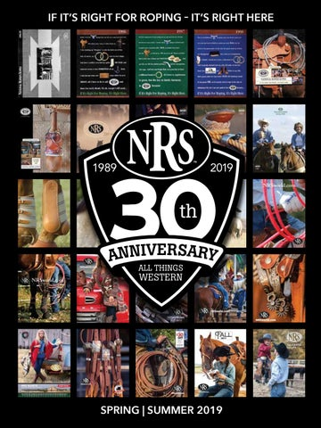 30th Anniversary NRS Spring and Summer Western Tack Catalog by