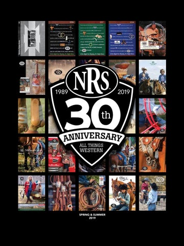 30th Anniversary NRS Spring and Summer 2019 NRS Western Wear Catalog