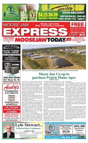 Moose Jaw Express by Moose Jaw Express - issuu a12afea3f96f