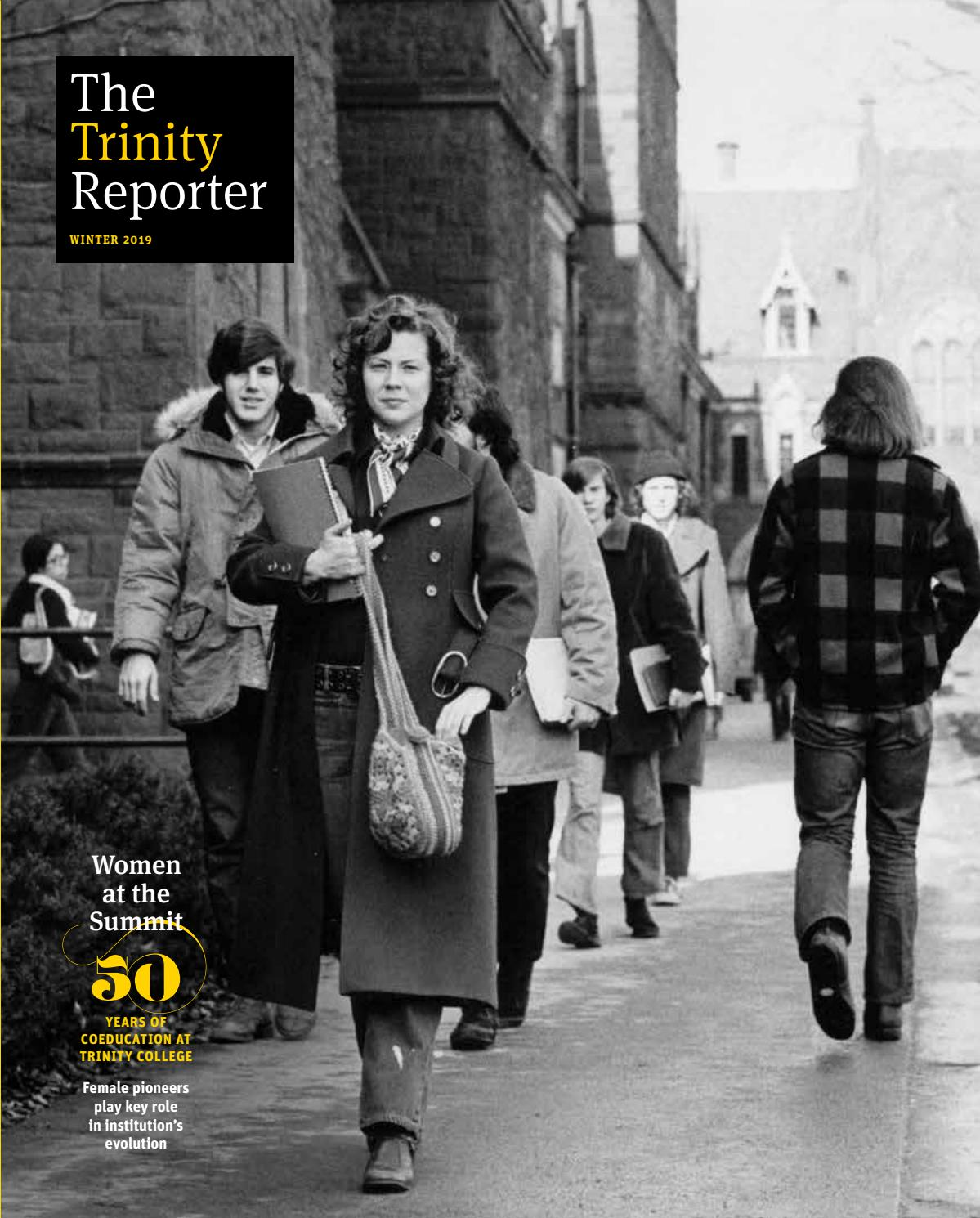 minnepolis womn trnsforms her cubicle into christms.htm the trinity reporter  winter 2019 by trinity college digital  the trinity reporter  winter 2019 by
