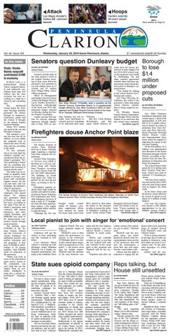 Peninsula Clarion, January 30, 2019 by Sound Publishing - issuu on