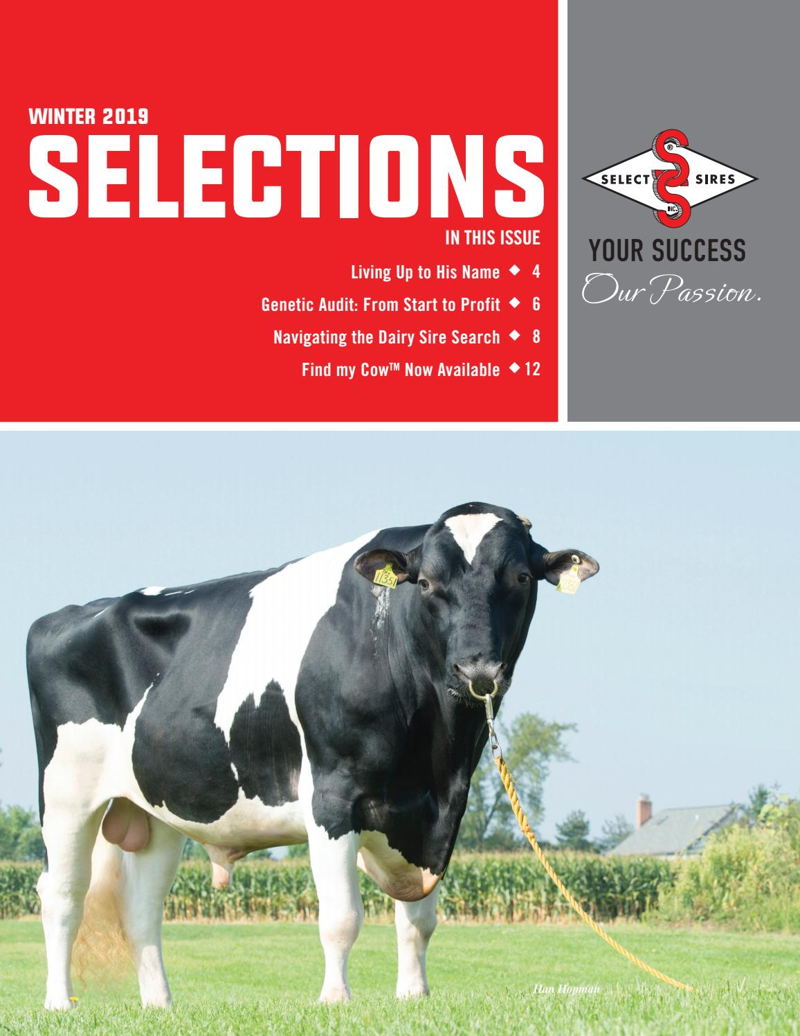Winter 2019 Selections by Select Sires - issuu