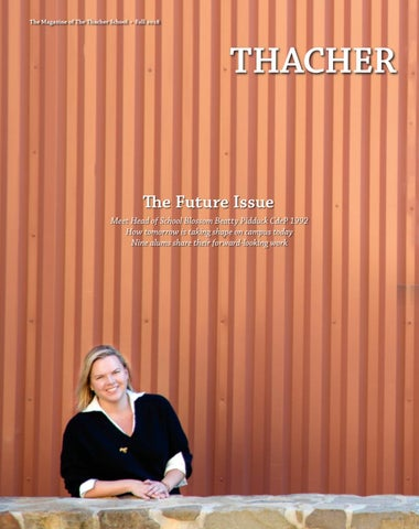 358a037cfbbc Thacher Magazine  Fall 2019 by The Thacher School - issuu