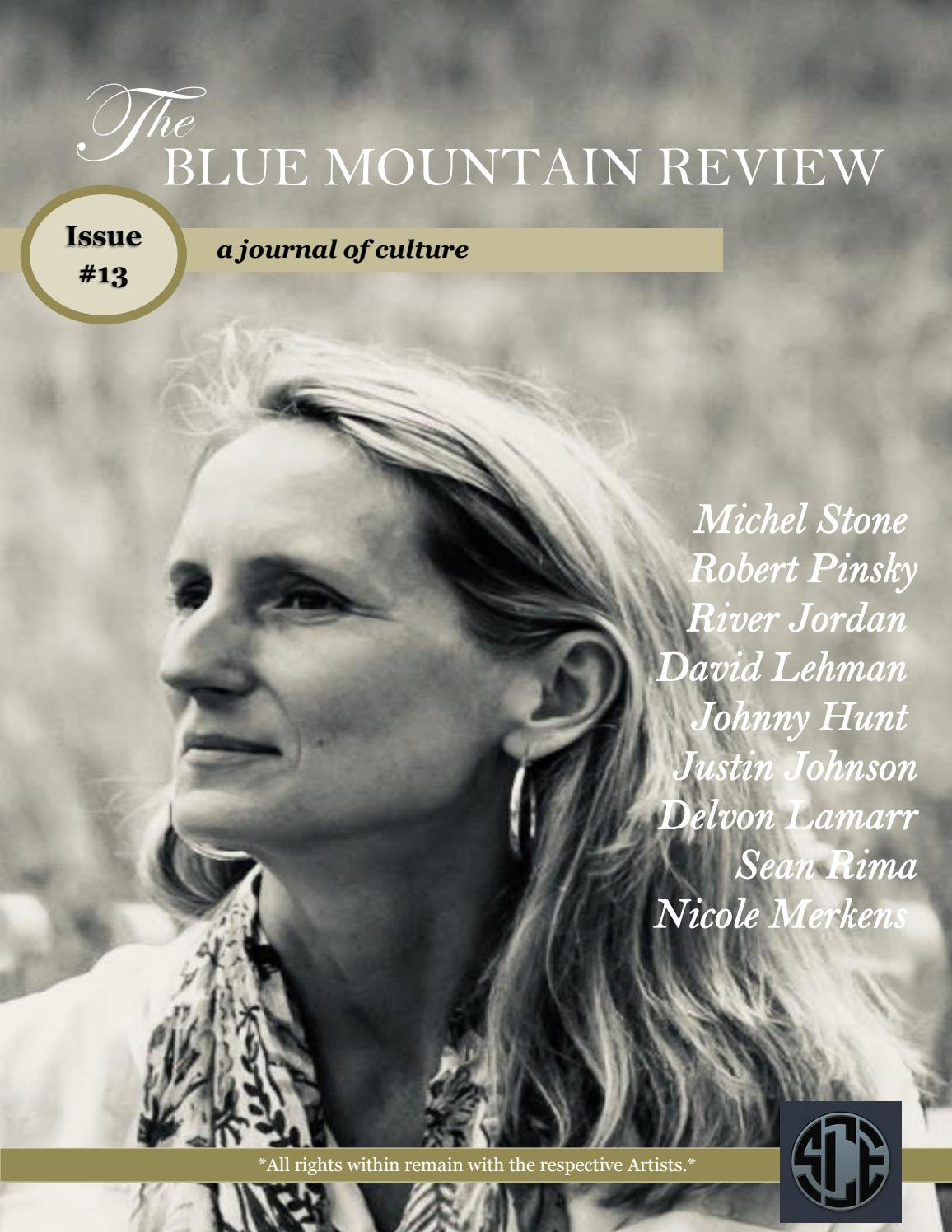1b0a35049bf The Blue Mountain Review Issue 13 by CollectiveMedia - issuu
